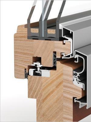 Holz alu fenster hersteller  Fenster